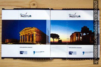 Tickets de Paestum. Photo © André M. Winter