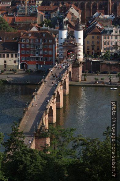 Le Vieux Pont de Heidelberg. Photo © André M. Winter