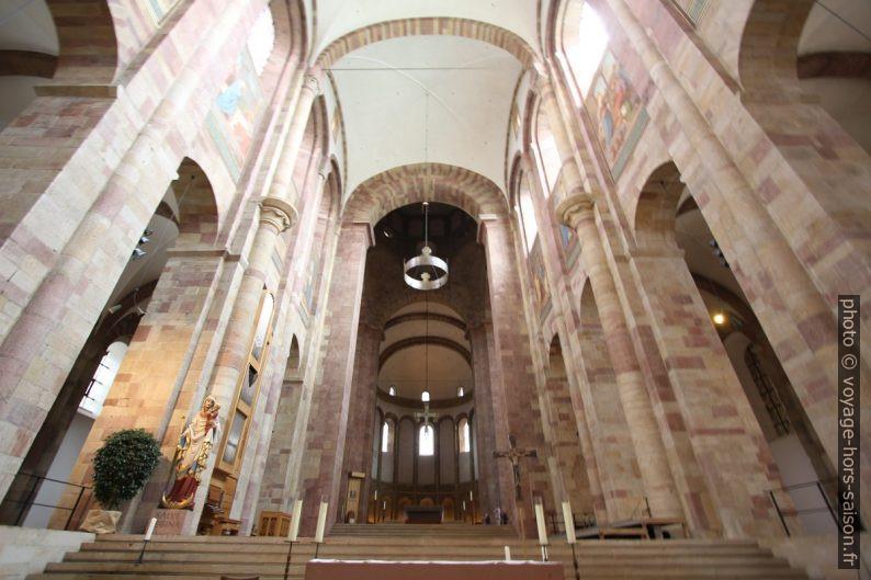 Le chœur de la cathédrale de Speyer. Photo © André M. Winter