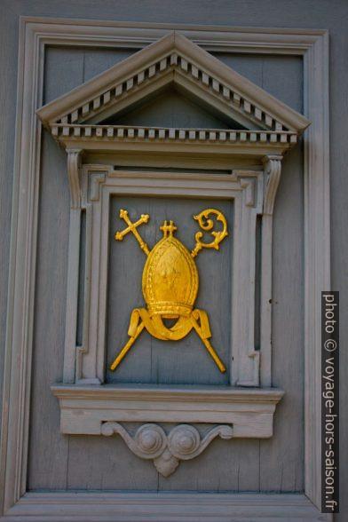 La porte de l'épiscopat de Speyer. Photo © Alex Medwedeff