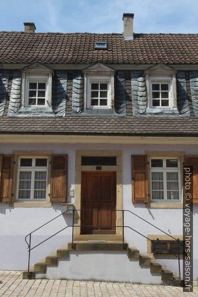 Une ancienne maison à Speyer. Photo © Alex Medwedeff