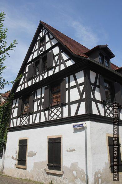 Maison à colombages à Speyer. Photo © Alex Medwedeff