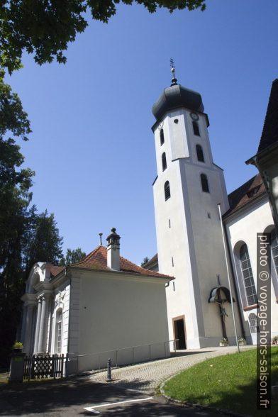 L'église d'Inzigkofen. Photo © Alex Medwedeff