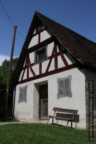 Une petite maison de l'ensemble d'Inzigkofen. Photo © Alex Medwedeff