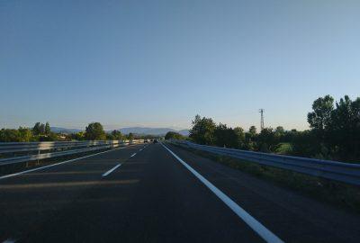 L'autoroute A15 de Parme à La Spezia. Photo © André M. Winter