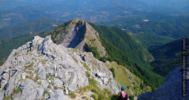 Sous le Pico di Capradossa et la partie nord de la Cresta du Carpadossa. Photo © André M. Winter