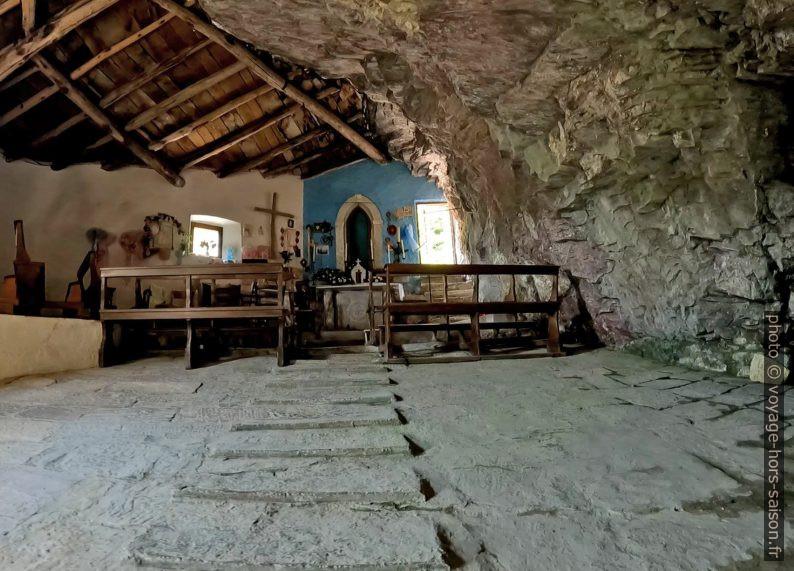 Nef de la Chapelle de San Viviano. Photo © André M. Winter