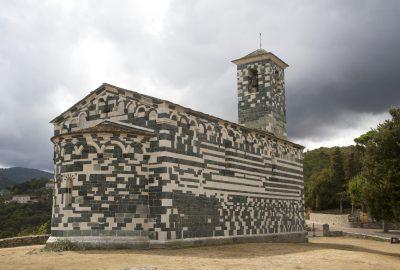 Église Saint-Michel de Murato. Photo © Alex Medwedeff